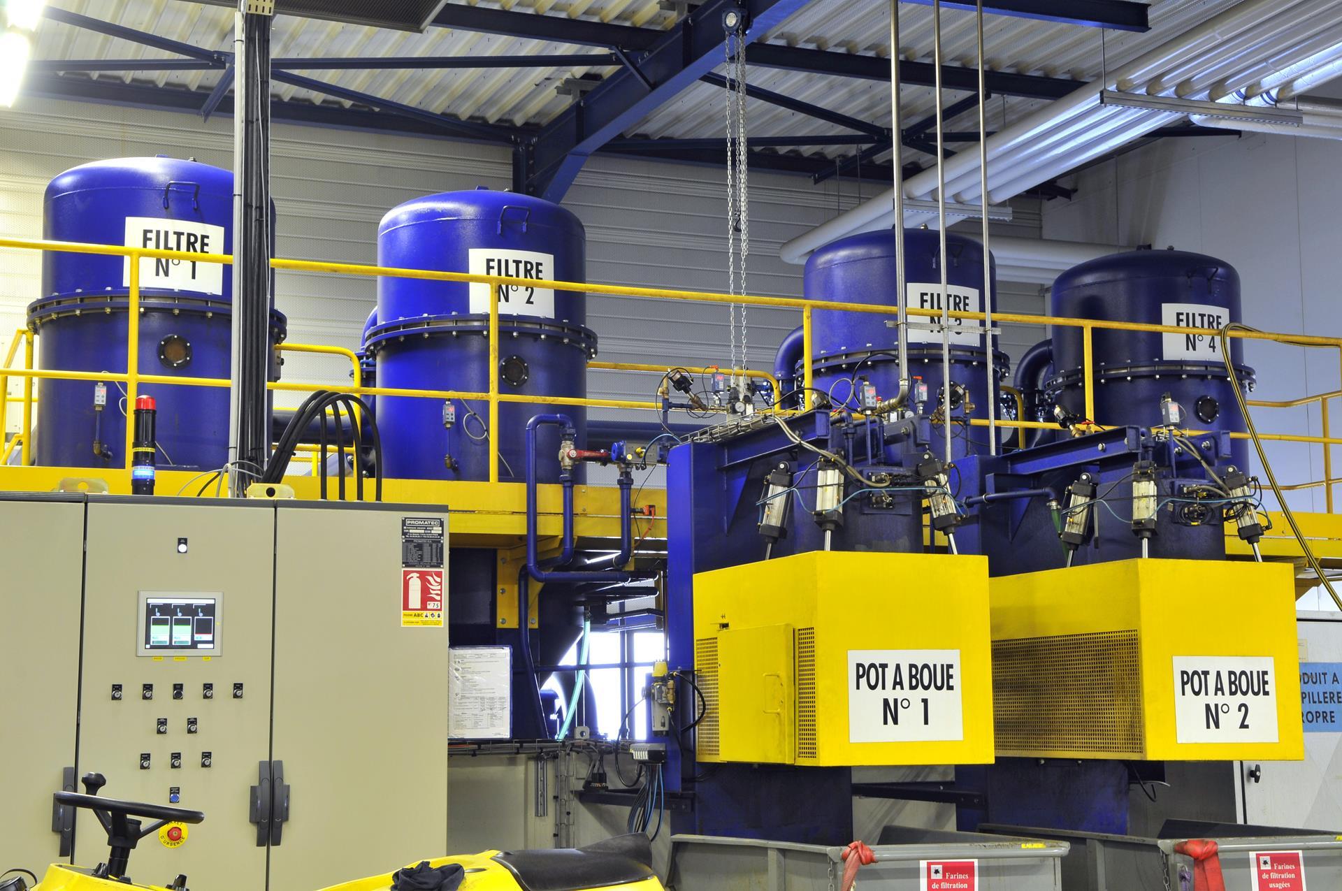 Station de traitement des huiles (collecte, filtration et dépollution)