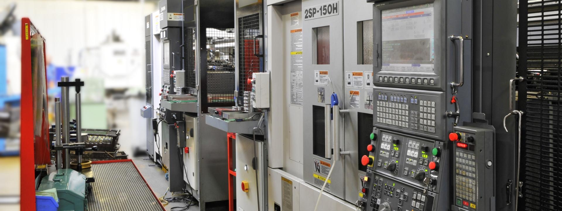 Machine CNC avec dispositif de palettisation
